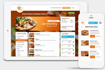 Pizza Customization Software
